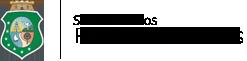 Logotipo preto da Secretaria dos Recursos Hídricos