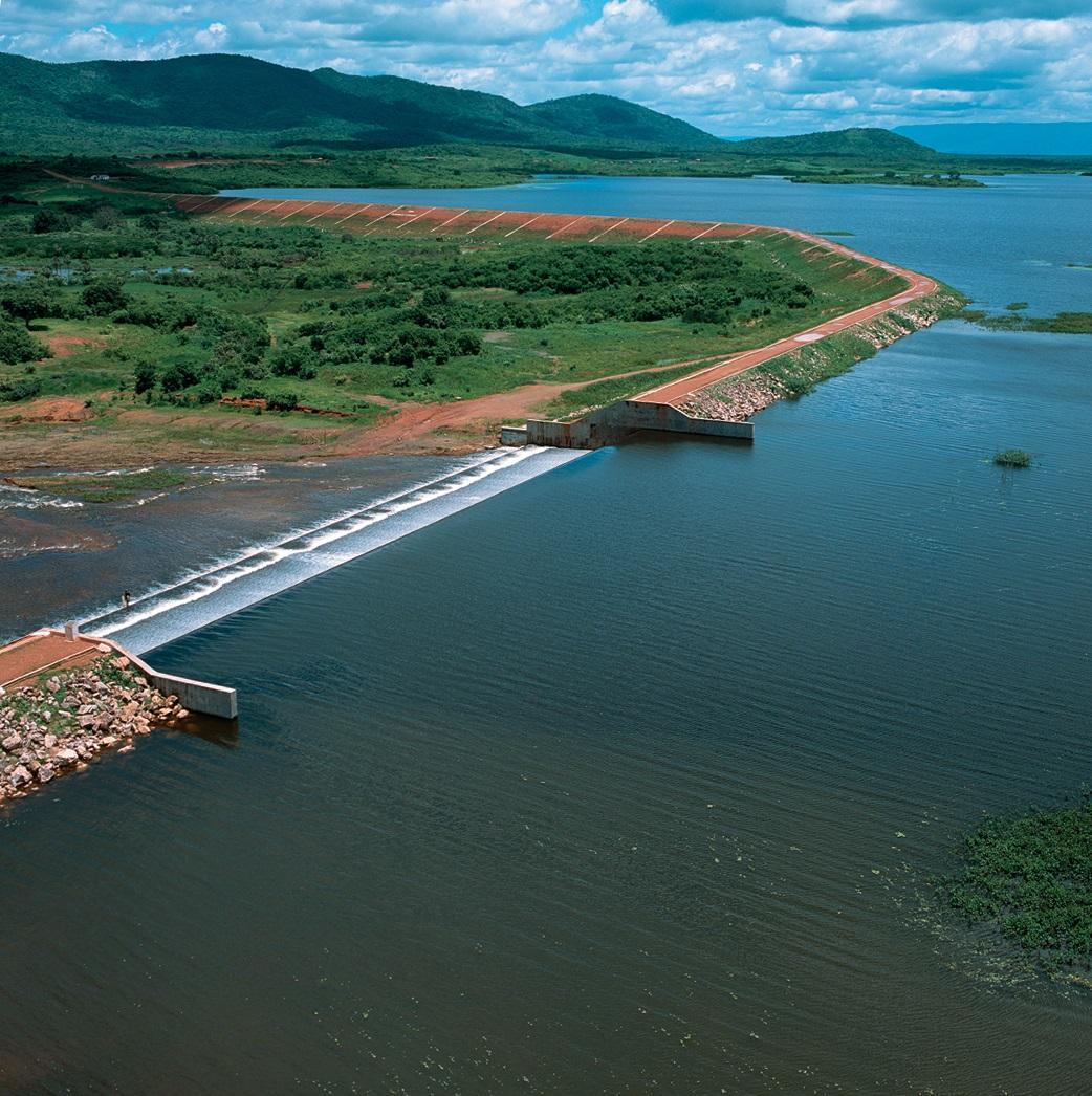 Aporte hídrico garante abastecimento humano para 2021