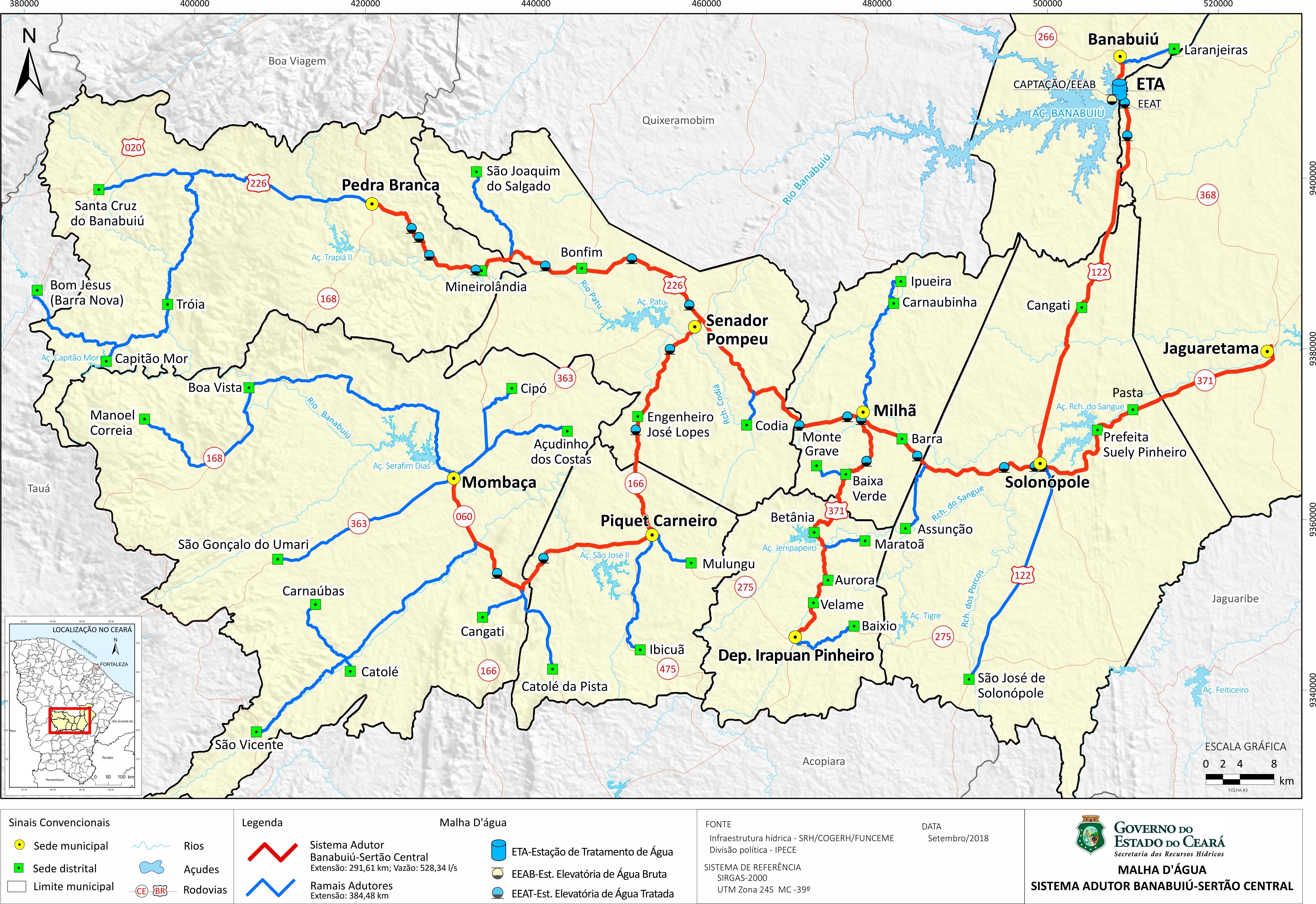 Lançada consulta pública sobre Projeto de Apoio à Melhoria da Segurança Hídrica