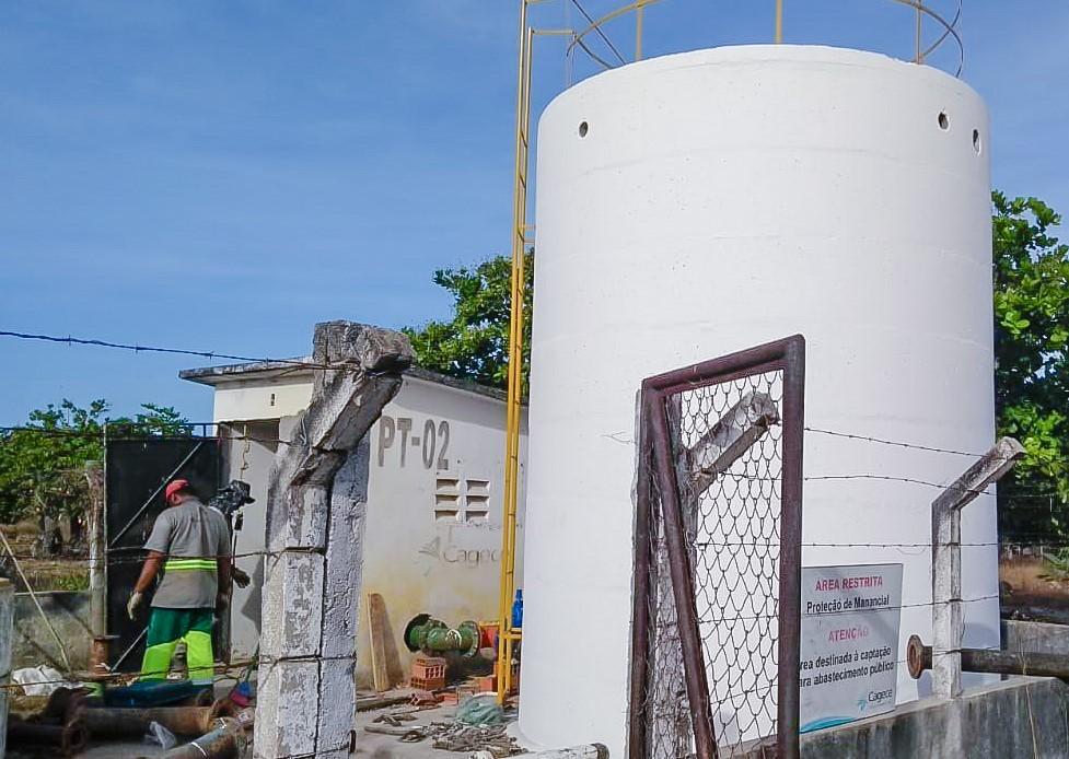 Jijoca: Ações conjuntas da Cagece e SRH otimizam abastecimento