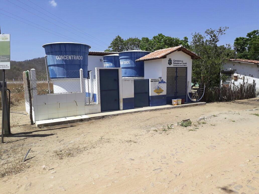 Água Doce | Quase metade dos dessalinizadores do Programa foi implantada no Ceará
