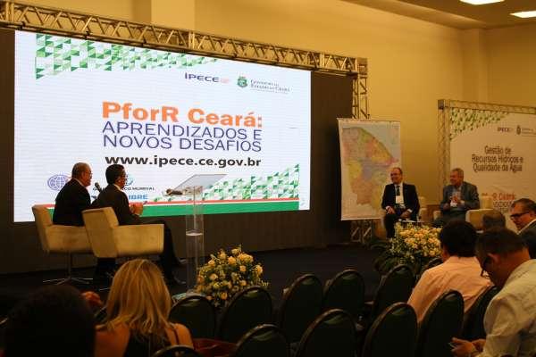 Cogerh é homenageada durante evento PforR Ceará e recebe selo Comemorativo dos Correios