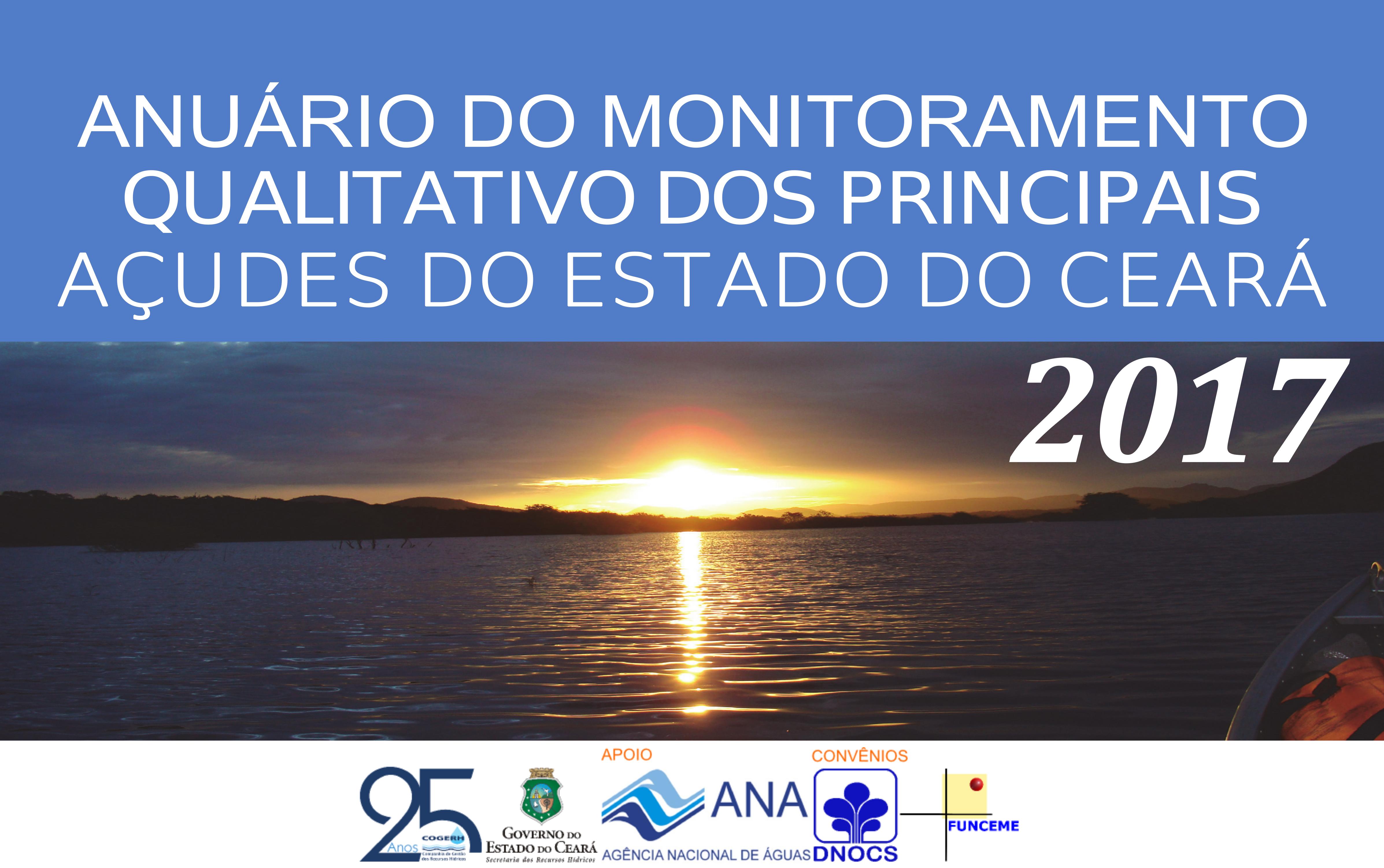 Anuário do Monitoramento dos Açudes do Ceará ganha versão online