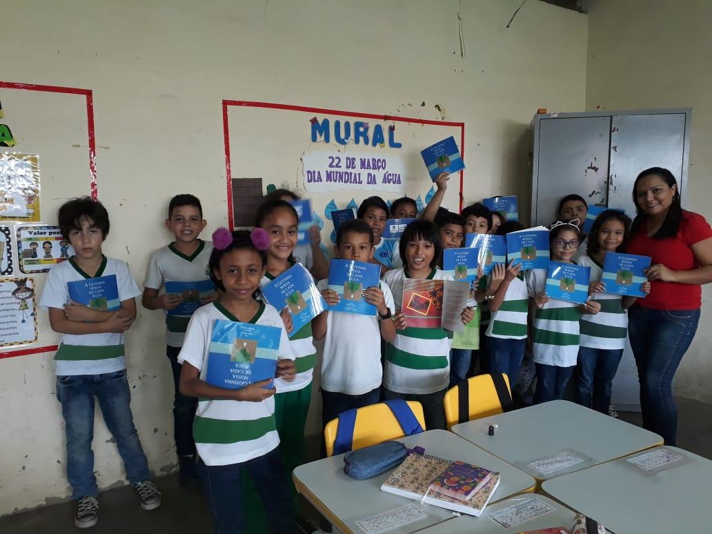 Dia Mundial da Água: cartilha da SRH ajuda crianças na educação ambiental
