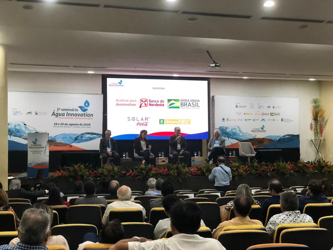 Seminário discute água, sustentabilidade e eficiência energética