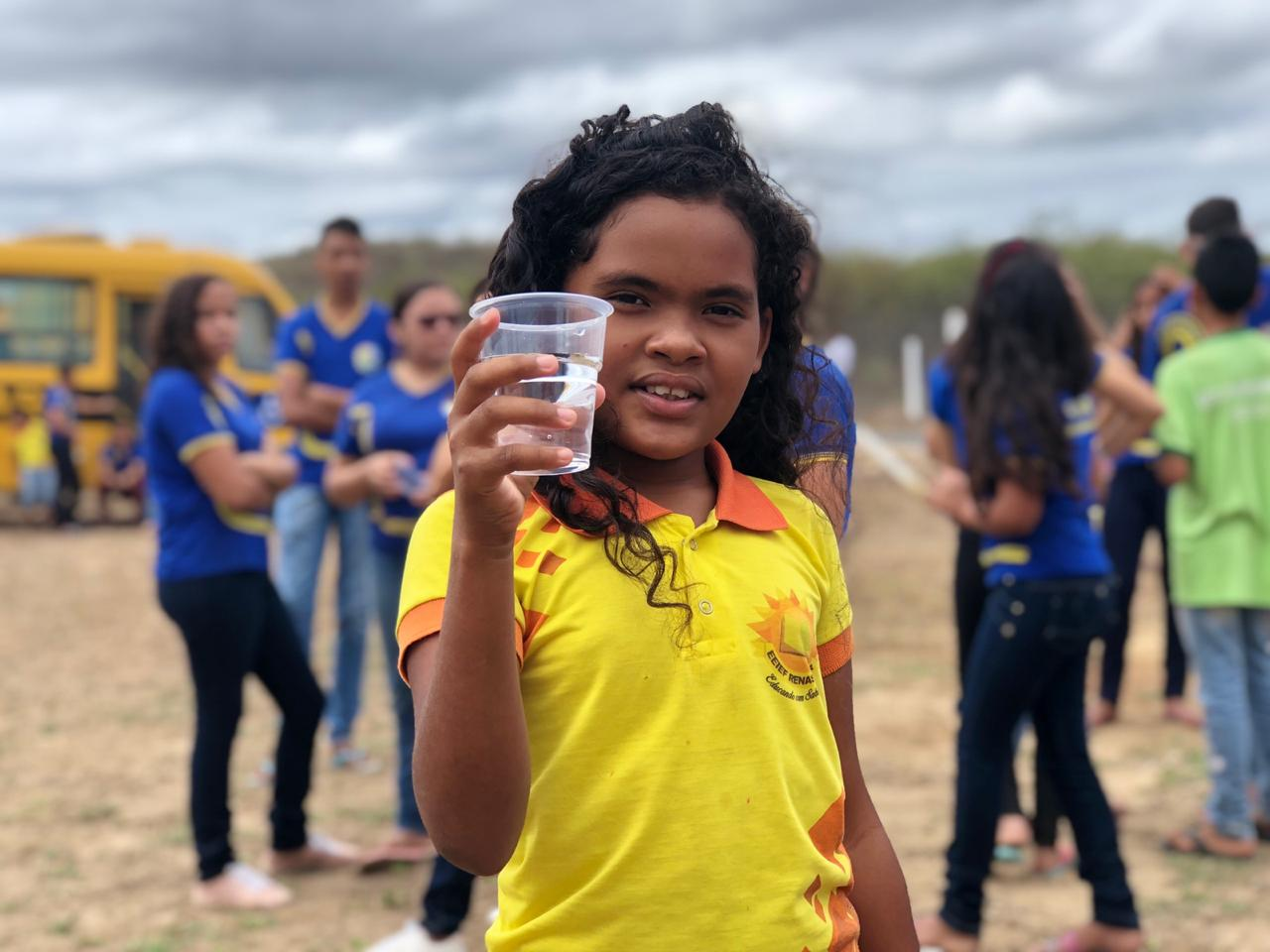 Famílias de Itapiúna comemoram chegada do Programa Água Doce