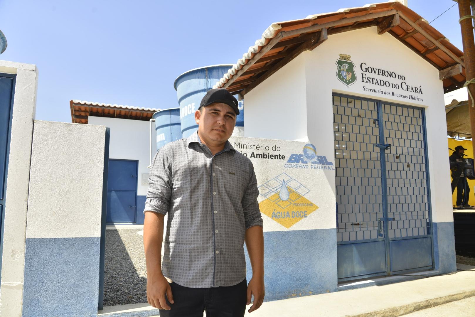 Zona rural de Santa Quitéria é beneficiada com três dessalinizadores de água