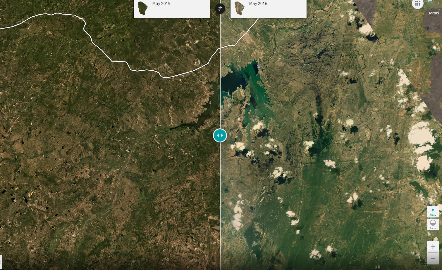 Monitoramento: imagens de satélites começam a ser utilizadas nos recursos hídricos