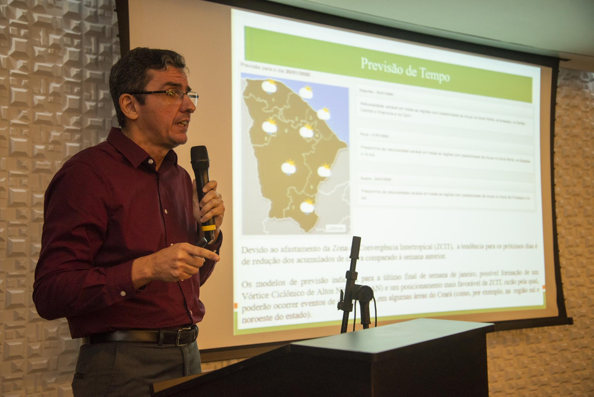 Ceará tem 45% de probabilidade de ter chuvas acima da normalidade entre fevereiro e abril