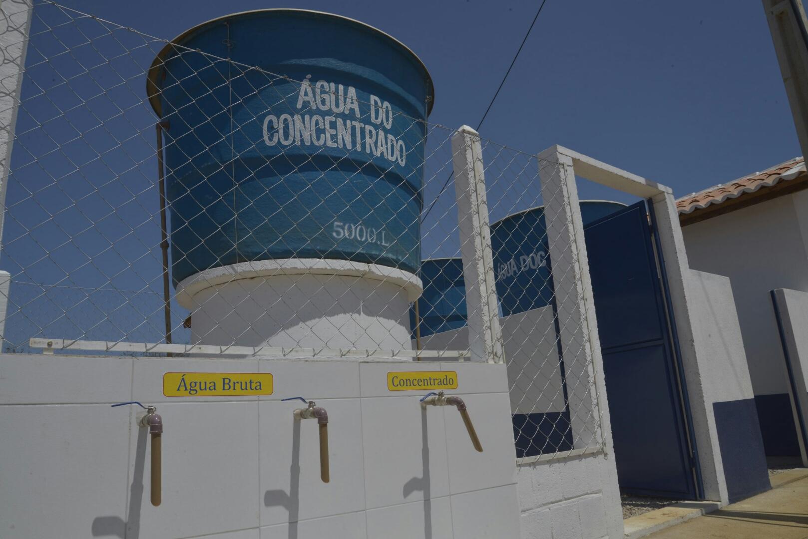 Convênio do Programa Água Doce é prorrogado por 1 ano