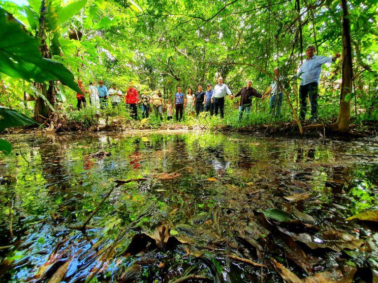APA da Bica do Ipu recebe projeto piloto de preservação de nascentes