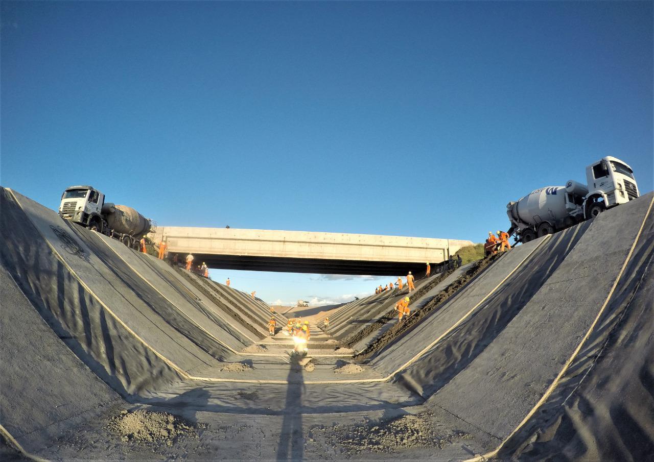 Cinturão das Águas recebe aporte de R$ 54 milhões para continuação das obras