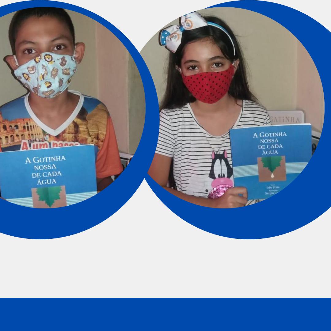 Livro educativo da SRH ajuda escolas nas aulas remotas