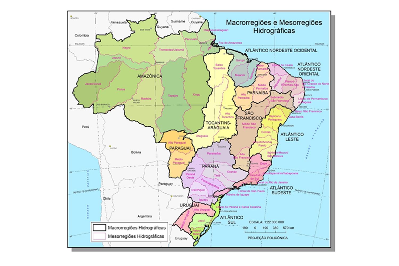 Bases inéditas de dados hidrográficos são lançadas pelo IBGE